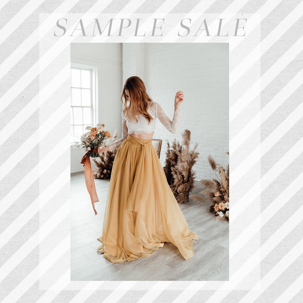 SAMPLE SALE: Florence Skirt in Marigold