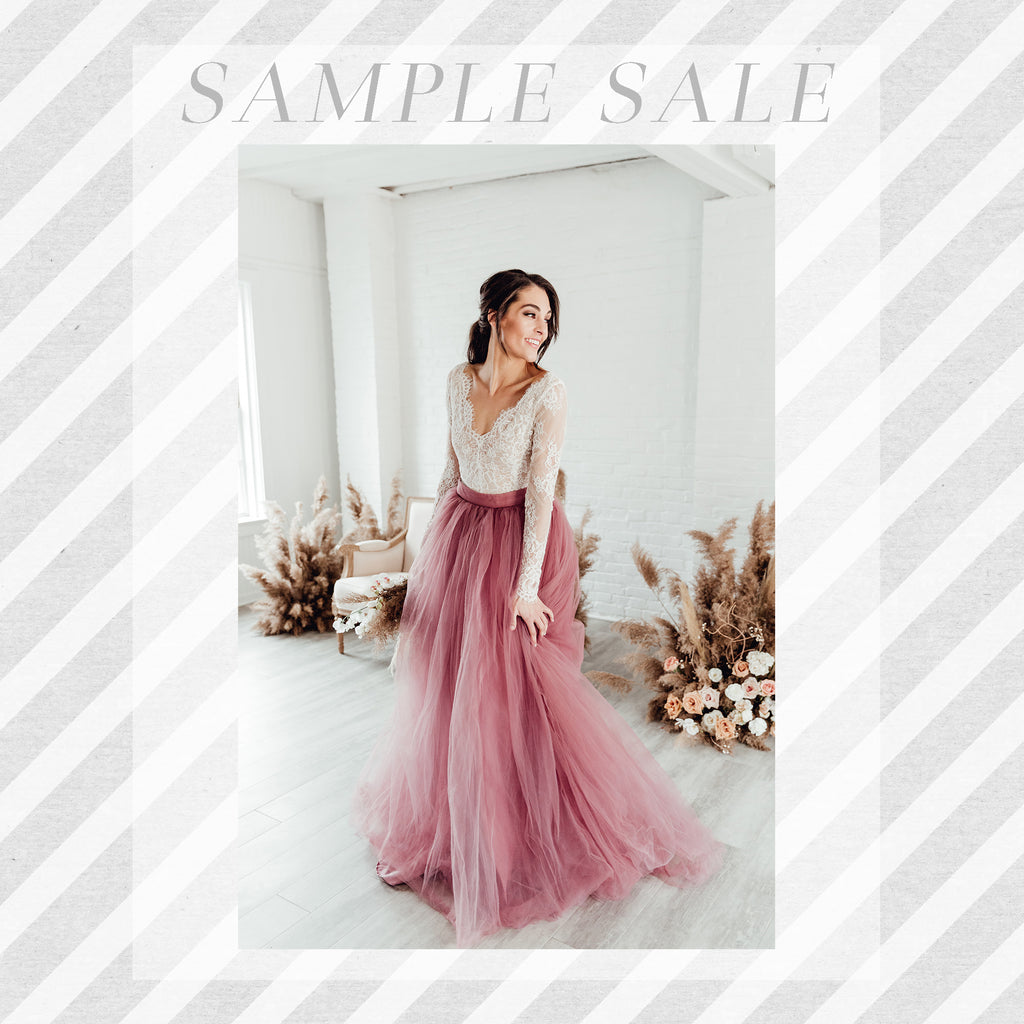 SAMPLE SALE: Norma J Skirt in Mauve