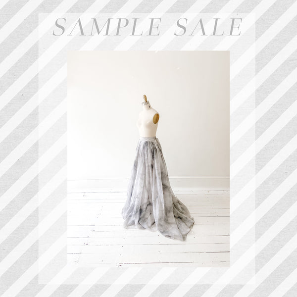 SAMPLE SALE: Tennyson Skirt in Carrera Marble