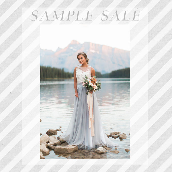 SAMPLE SALE: Florence Skirt in Fog