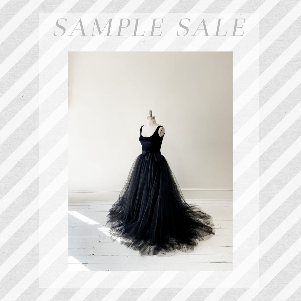 SAMPLE SALE: Norma J Skirt in Raven