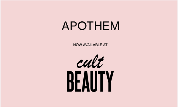 APOTHEM launches into Cult Beauty