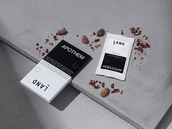 APOTHEM x LAND CBD CHOCOLATE: TASTING NOTES