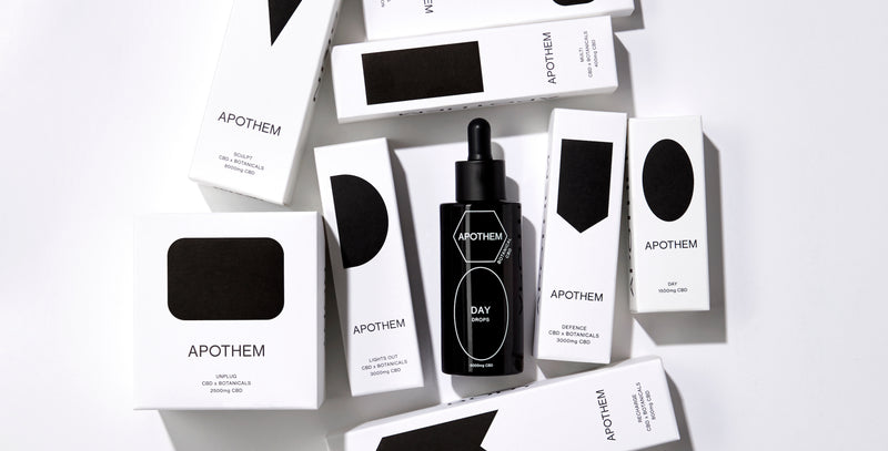 APOTHEM Award winning UK CBD beauty and wellbeing