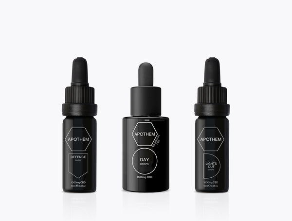 CBD OIL DROPS RITUAL KIT (SMALL)