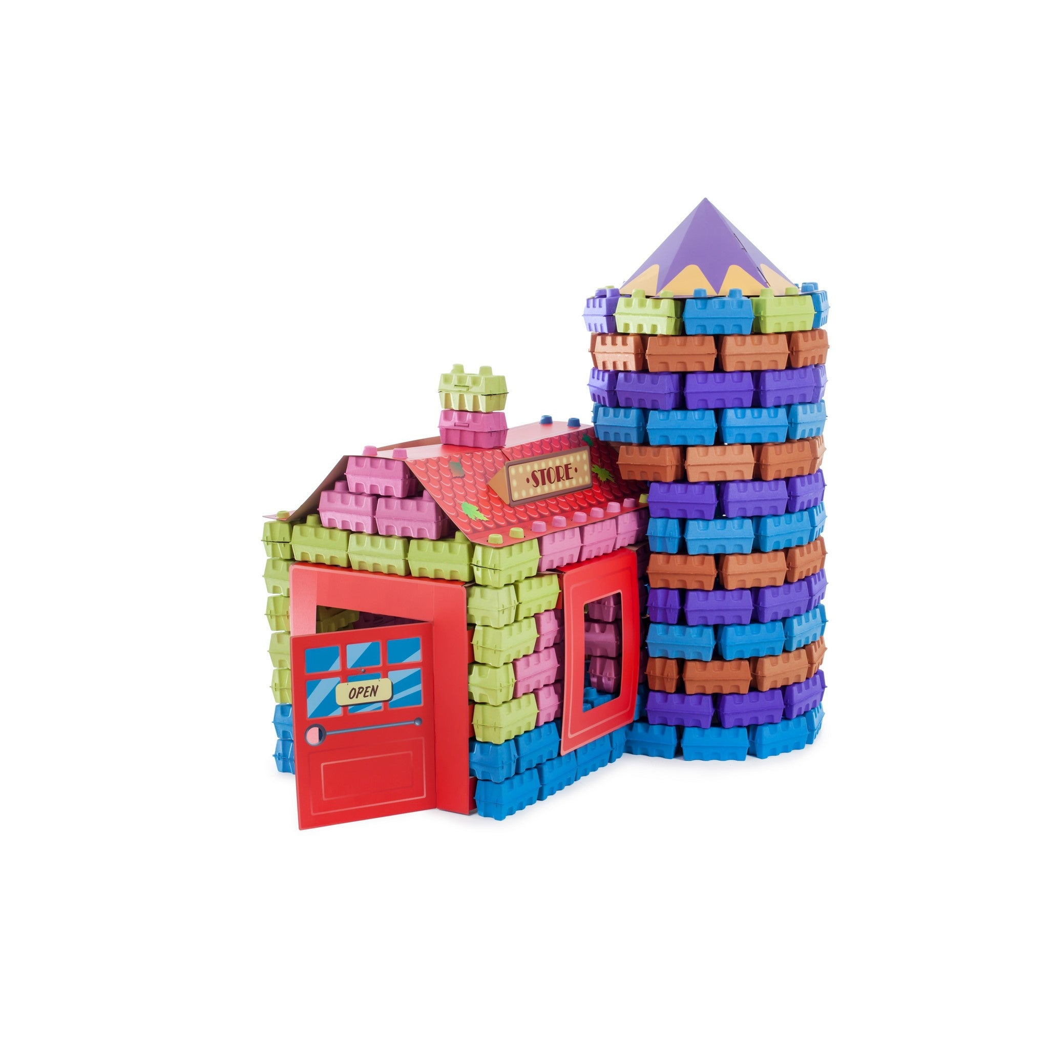 PAGL is a construction set of building blocks to build and play.