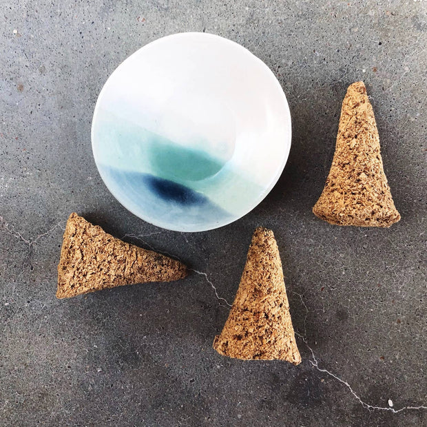Handmade Ceramic Incense Cone Dish