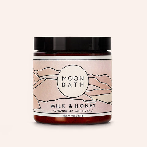 Milk and Honey Sundance Sea Bathing Salt Infused Frankincense Lavender Moon Bath Shop Jupiter Goods