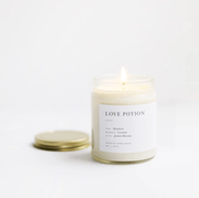 Love Potion Soy Minimalist Candle Mandarin by Brooklyn Candle Studio Shop Jupiter Goods