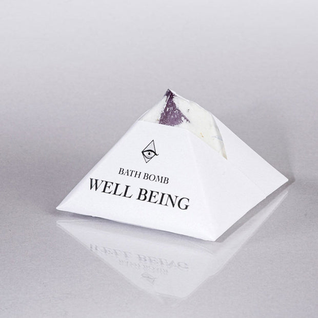 Well Being Bath Bomb Basil Lavender Magic Fairy Candles Shop Jupiter Goods