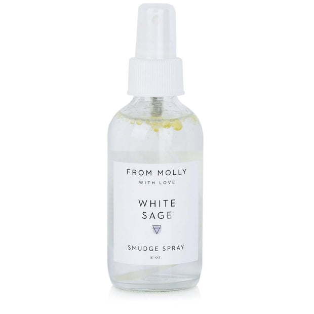 White Sage Smudge Spray Witch Hazel Rose From Molly with Love Shop Jupiter Goods