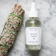 White Sage Smudge Spray Witch Hazel Essential Oils From Molly with Love Shop Jupiter Goods