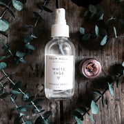 White Sage Smudge Spray Witch Hazel Lemon From Molly with Love Shop Jupiter Goods