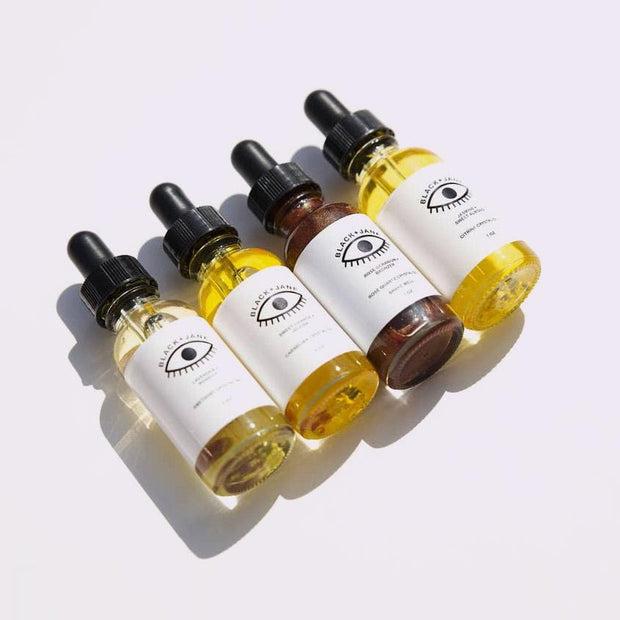 Crystal Infused Facial Oils Black and Jane Shop Jupiter Goods