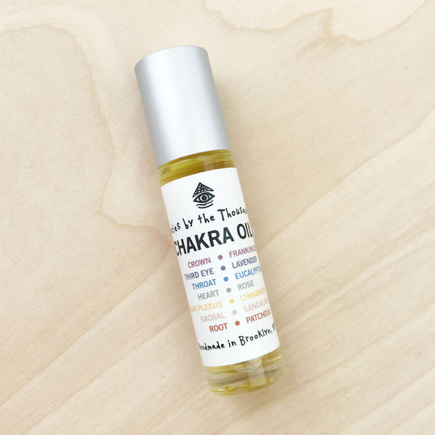 Chakra Balancing Roll On Natural Oil Perfume
