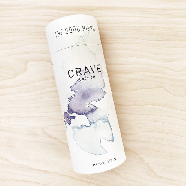 Crave Body Oil Nourishing Botanical The Good Hippie Aromatherapy Shop Jupiter Goods