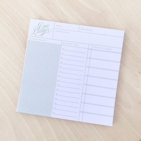 Day Ledger Pad