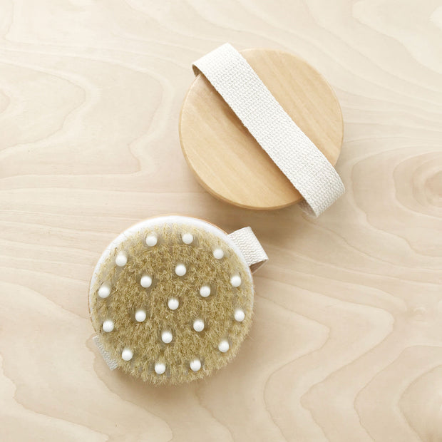 Dry Body Exfoliating Brush for Glowing Skin Shop Jupiter Goods