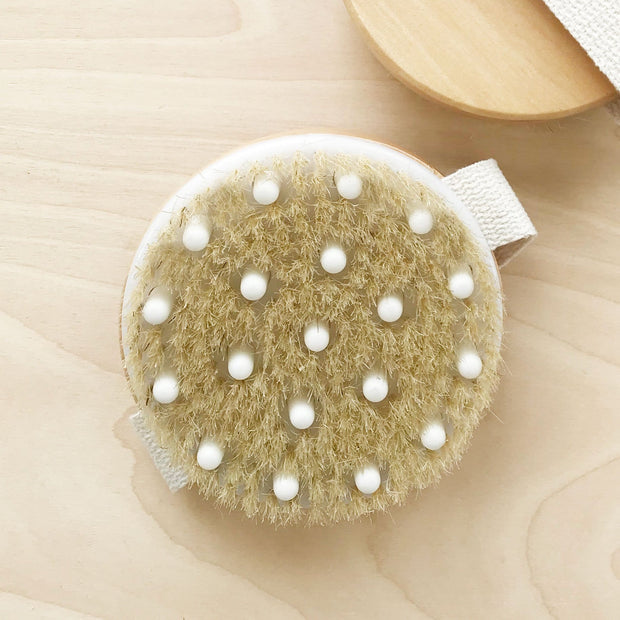 Dry Body Brush for Glowing Skin