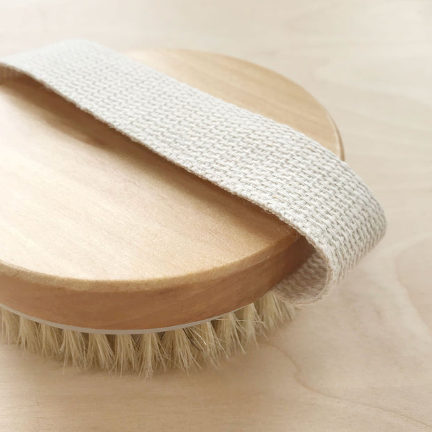 Dry Body Brush for Lymph Drainage Glowing Skin Shop Jupiter Goods