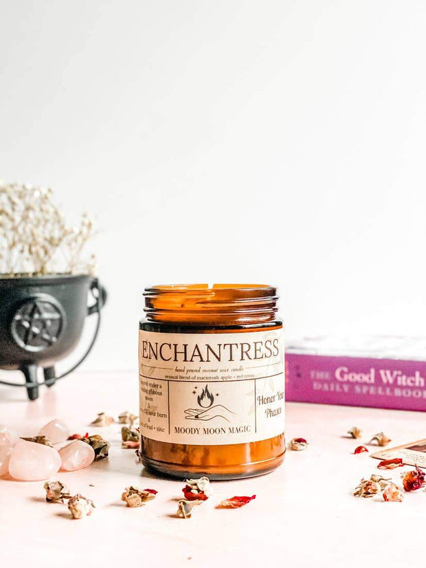 Enchantress Herbal Soy & Coconut Candle