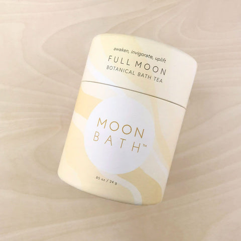 Full Moon Bath Tea Awaken Uplift Moon Bath Shop Jupiter Goods
