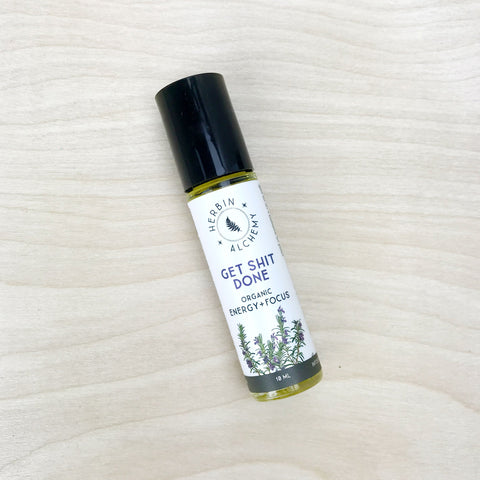 Get Shit Done ~ Aromatherapy Roll On