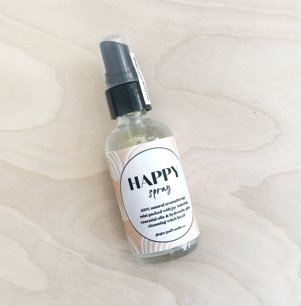 Happy Plant-Based Aromatherapy Spray