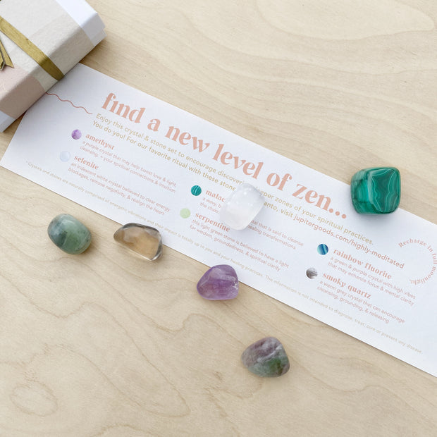 Highly Meditated Crystal & Palo Santo Ritual Kit