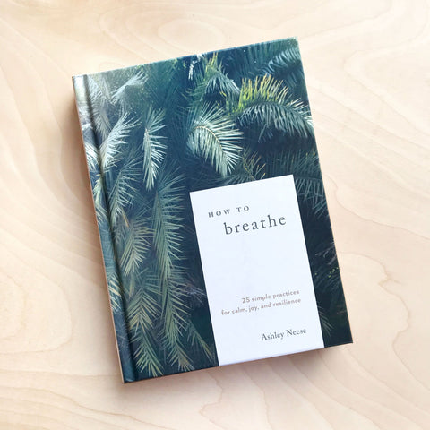 How to Breathe Book Simple Practices for Calm Joy and Resilience by Ashley Neese Shop Jupiter Goods
