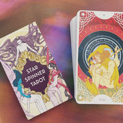 Star Spinner Tarot Inclusive Diverse LGBTQA+ 81 Card and Guidebook Mermaids by Trungles Shop Jupiter Goods
