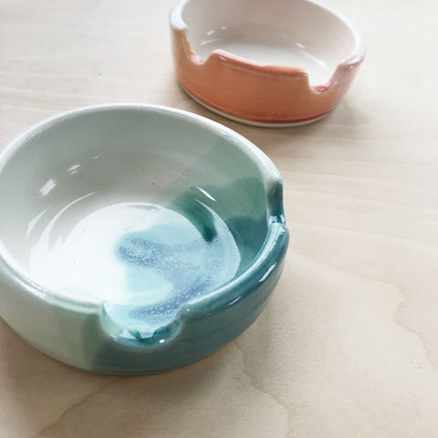 Handmade Glazed Incense and Smudging Dish Karakotta Ceramics Shop Jupiter Goods