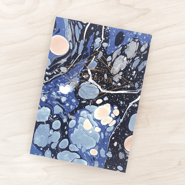 Indigo Marble Supreme Notebook