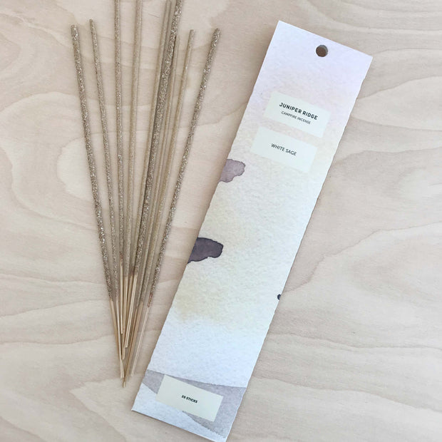 White Sage Campfire Incense by Juniper Ridge Shop Jupiter Goods