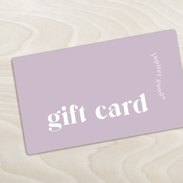 Gift Cards Shop Jupiter Goods