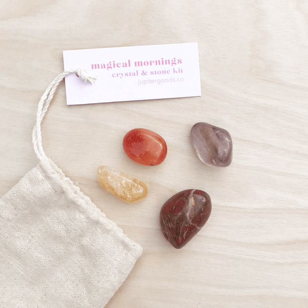Magical Mornings Mini Crystal & Stone Kit