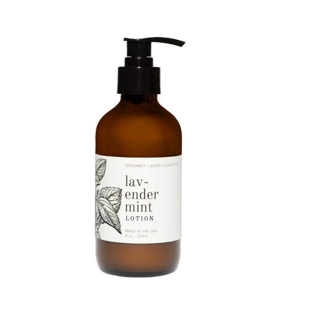 Lavender Mint Organic Hand & Body Lotion