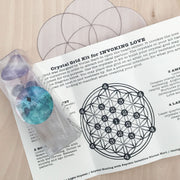 Love Crystal Grid