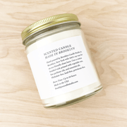Love Potion Soy Minimalist Candle Wildflowers Citrus by Brooklyn Candle Studio Shop Jupiter Goods