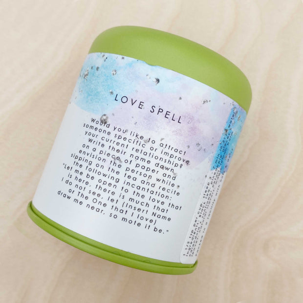 Love Spell Herbal Tea ~ Black Tea, Lemon Balm, Vanilla
