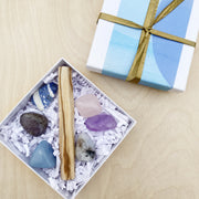 Magical Zzz's Crystal & Palo Santo Ritual Kit for Calming Sleep Rituals