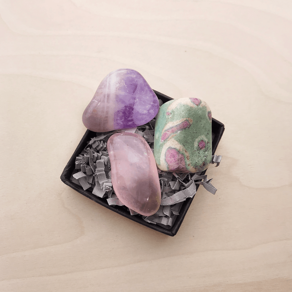 Mini Love Blessing Crystal & Stone Kit