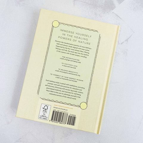Moon Bath ~ Bathing Rituals and Recipes for Relaxation and Vitality Shop Small - Jupiter Goods