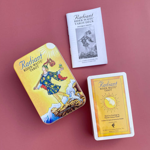 Radiant Rider-Waite® Tarot Deck in a Tin