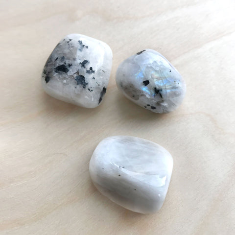 Rainbow Moonstone The New Beginnings Stone Crystal Grounding Security Connected to Nature Shop Jupiter Goods