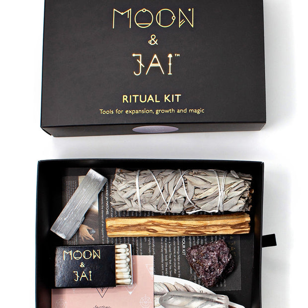 RELEASE Ritual Kit with Lepidolite