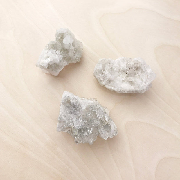 Raw Clear Quartz Mini Clusters