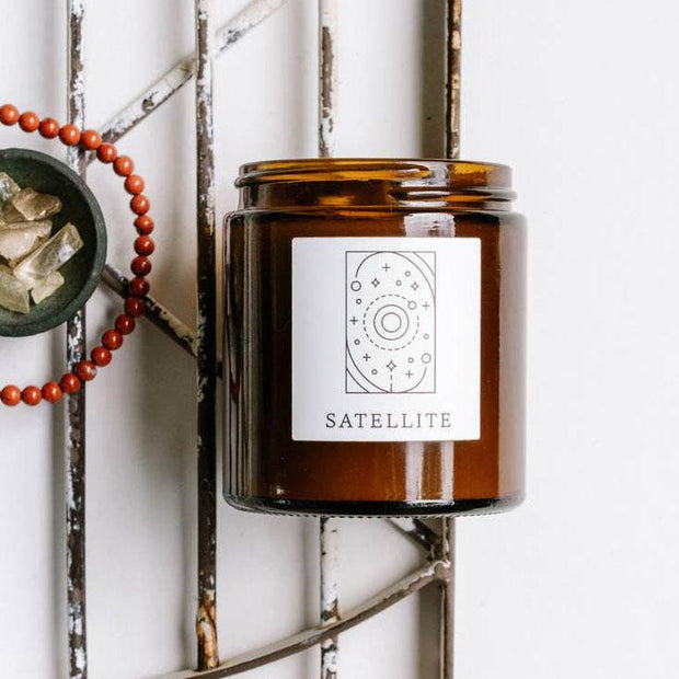 Satellite ~ Natural Coconut Wax Candle