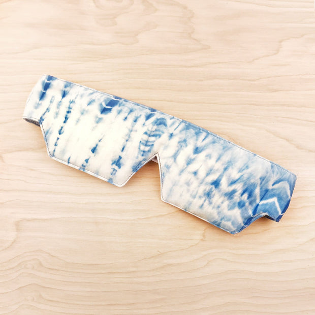 Organic Cotton Shibori Sleep Mask