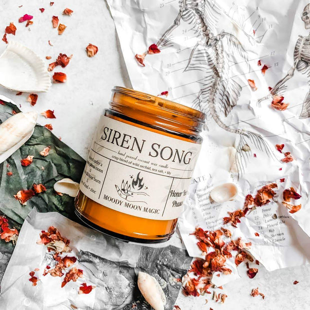 Siren Song Herbal Soy & Coconut Candle